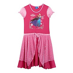 Disney Frozen - Girl's dark pink 'Frozen' nightie