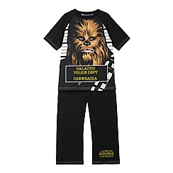 Star Wars - Boy's black 'Chewbacca' pyjama set