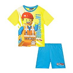 Lego - Boy's yellow Lego Movie pyjamas