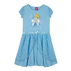 Disney - Girl's blue Cinderella night dress