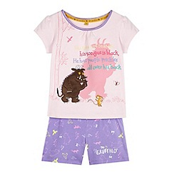 The Gruffalo - Girl's pink 'Gruffalo' pyjama set