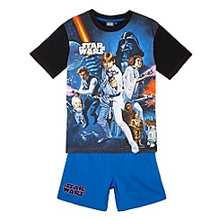 Star Wars - Boy's navy 'Star Wars' pyjama set