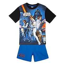 Star Wars - Boy's navy 'Star Wars' pyjama set