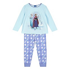 Disney Princess - Girl's aqua 'Frozen' pyjama set