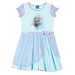 Disney Frozen - Girl's blue 'Frozen' sequin nightie