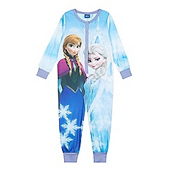 Disney Frozen - Girl's light blue 'Frozen' onesie