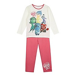 Disney Inside Out - Girl's pink 'Inside Out' pyjama set