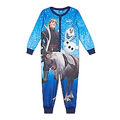 Disney Frozen - Boy's blue 'Frozen' onesie