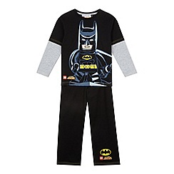 Lego - Boy's black 'LEGO Batman' pyjama set