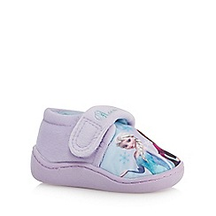 Disney Frozen - Girls' lilac 'Frozen' slippers
