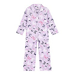 bluezoo - Purple butterfly pyjama set