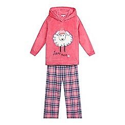 bluezoo - Three piece pink pyjama set