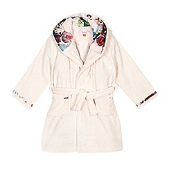 Baker by Ted Baker - Girl's pink hooded robe