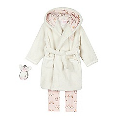 Baker by Ted Baker - Girls' pink penguin three piece pyjama set
