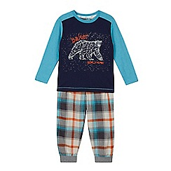 Baker by Ted Baker - Boys' blue constellation bear print pyjamas