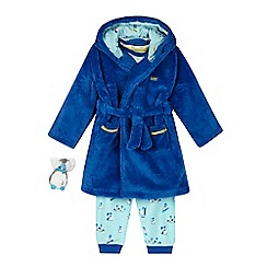 Baker by Ted Baker - Boys' blue penguin three piece pyjama set