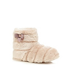 Baker by Ted Baker - Girls' pink slipper boots