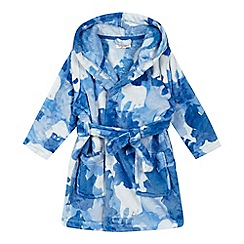 bluezoo - Boys' camouflage bear robe
