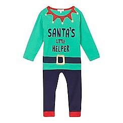 bluezoo - Green elf pyjama set