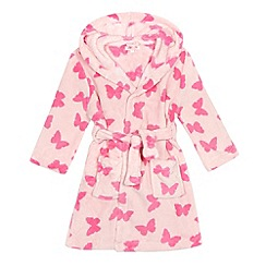 bluezoo - Girls' pink butterfly dressing gown