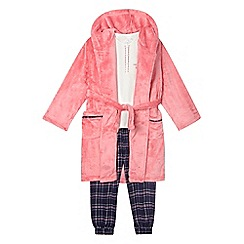 J by Jasper Conran - Pink pyjama and robe set