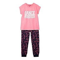 Pineapple - Girls pink dance forever pyjama set