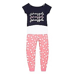 Pineapple - Girls' assorted crop top, camisole and bottoms set