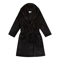 bluezoo - Boys' black hooded robe