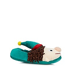 bluezoo - Girls' green elf slippers