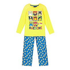 LEGO - Yellow Lego pyjama set