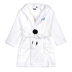 Disney Frozen - Boys' white fleece 'Olaf' dressing gown
