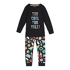 Star Wars - Boys' black print lounge pants