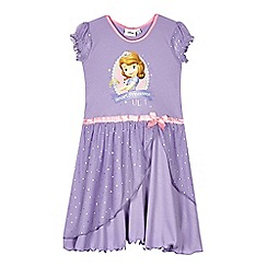 Disney Sofia the First - Girls' lilac 'Princess Sophia' nightie