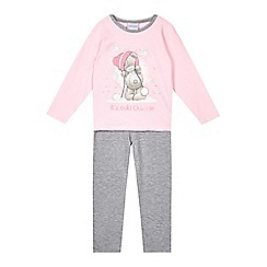 Me to you - Girls' pink 'Tatty Teddy' pyjama set