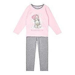 Me to you - Girls' pink 'Tatty Teddy' pyjama set