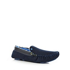 Baker by Ted Baker - Blue moccasin slippers