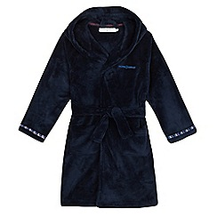 J by Jasper Conran - Boys' blue fluffy dressing gown