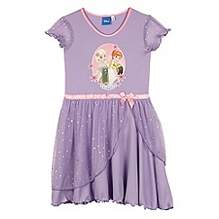 Disney Frozen - Girl's lilac 'Frozen' night dress
