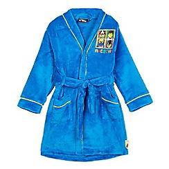 LEGO - Boys' blue 'Lego' dressing gown