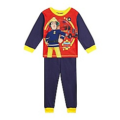 Fireman Sam - Boys' blue Fireman Sam pyjamas