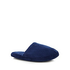 bluezoo - Boys' navy mule slippers