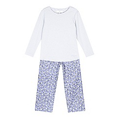 J by Jasper Conran - Lilac horse print pyjama set