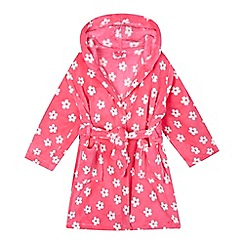 bluezoo - Girls' pink flower dressing gown