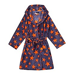 bluezoo - Boys' star hooded dressing gown
