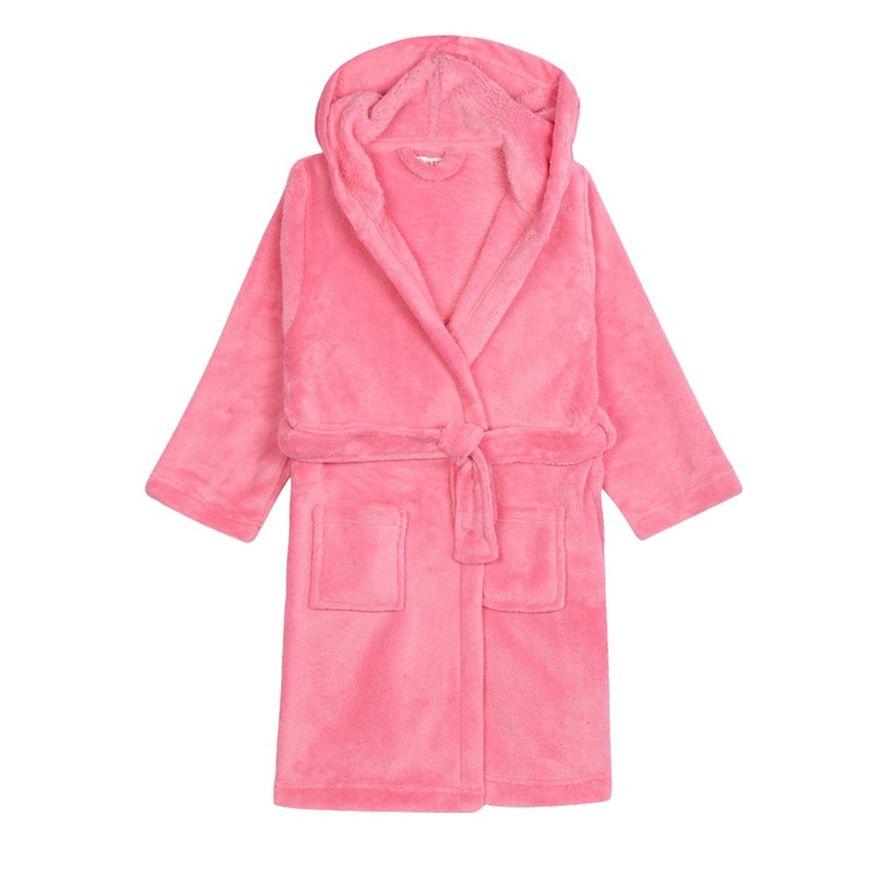 bluezoo girls 39 pink dressing gown octer. Black Bedroom Furniture Sets. Home Design Ideas