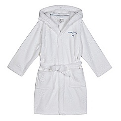J by Jasper Conran - Girls' embossed floral dressing gown