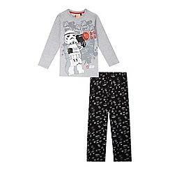 Star Wars - Boys' grey Star Wars Lego pyjama set
