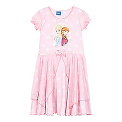 Disney Frozen - Girls' pink 'Frozen' nightie