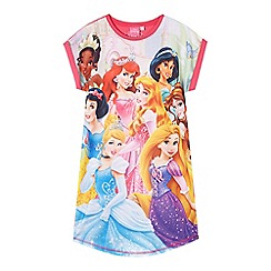Disney Princess - Girls' pink 'Disney Princess' sleep t-shirt
