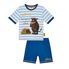The Gruffalo - Boys' blue Gruffalo placement pyjama set